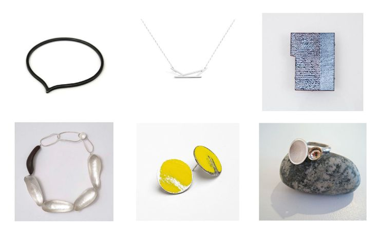 A range of contemporary jewellery