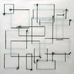 Saliha Elhoussaini, Complete Incomplete Quadrilaterals 1 (2014) Courtesy of the Artist and Aesthetica