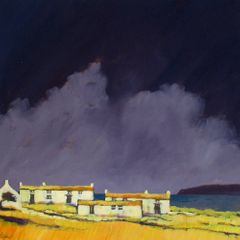 John Piper, Coastal Farm. Image is courtesy of Eleven and a Half Gallery and will be on show at the fair.