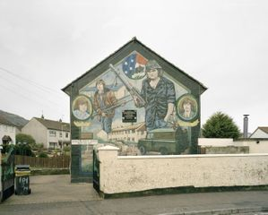 David Gibson - The Art of The Conflict 'Ballymurphy Road III'