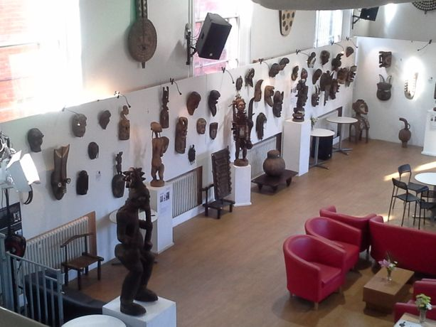 Current exhibition images ---- African Tribal Art in the Tribal Eye Gallery collection www.tribaleyegallery.co.uk