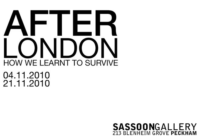 After London: How we learnt to survive: Image 0