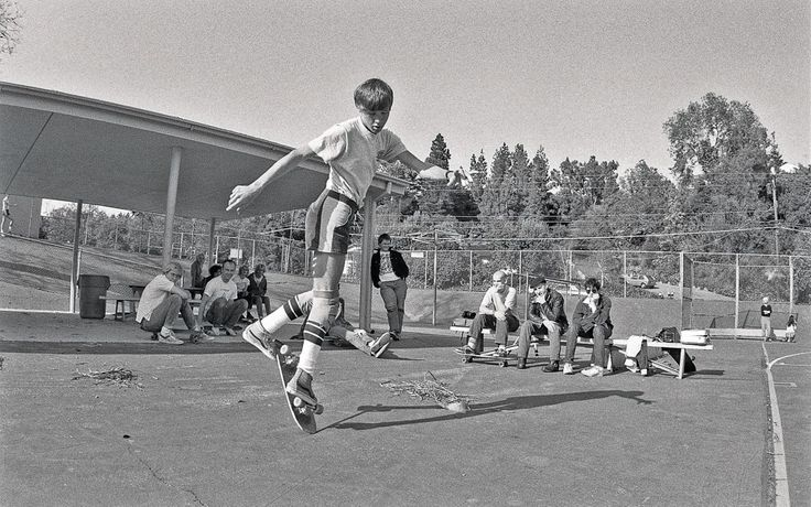 Glen E. Friedman, Rodney Mullen and Minor Threat, c.1982