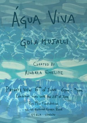Agua Viva Private View Invite