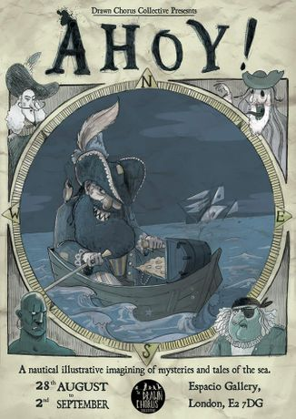 AHOY! A nautical illustrative imagining of mysteries and tales of the sea.: Image 0