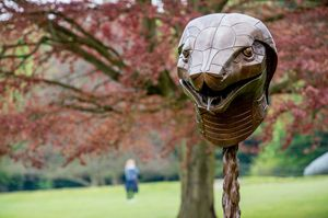 Zodiac Heads (detail), 2010. Courtesy the artist and Yorkshire Sculpture Park. Photo © Charlotte Graham - Guzelian