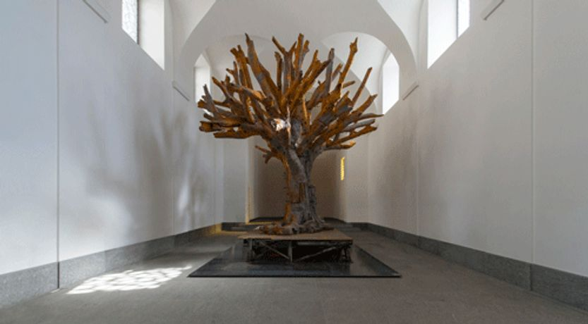 Ai Weiwei in the chapel: Image 0