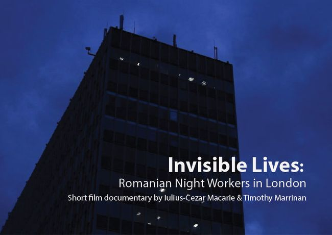 'Invisible Lives: Romanian Night Workers in London' — Short Film Documentary by Iulius-Cezar Macarie &Timothy Marrinan: Image 0