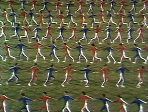 film still of Yugoslavia: How Ideology Moved Our Collective Body (2013) by Marta Popivoda