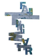 Alan Kitching, Falling Water, Letterpress Print