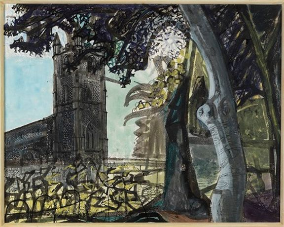 Alan Powers Talk: Edward Bawden and the Unromantic Landscape: Image 0