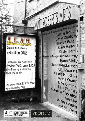 ALAS Summer residency exhibition