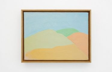 Etel Adnan, Untitled, 2000. David Roberts collection, London.