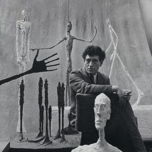 Alberto Giacometti Alberto Giacometti, 1951 Photograph by Gordon Parks Fondation Giacometti, Paris © The Gordon Parks Foundation