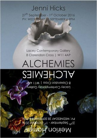ALCHEMIES – Jenni Hicks & Meirion Harries