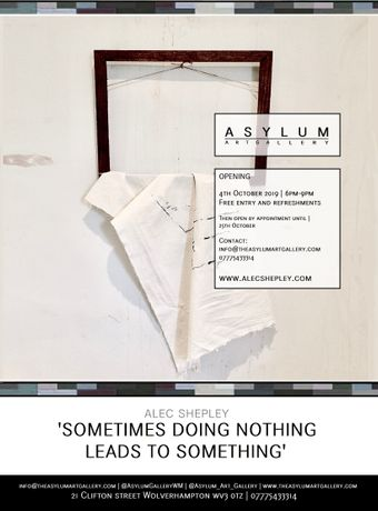 Alec Shepley | Sometimes doing nothing leads to something: Image 0