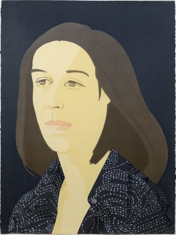 Alex Katz, Ada from the complete set of four