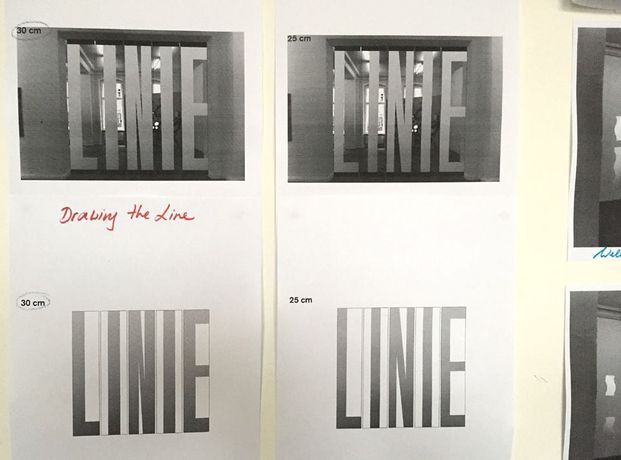 Alex Lebus. Breaking the Waves and Drawing a Line: Image 0
