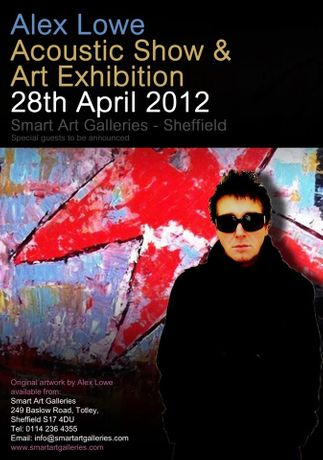 Alex Lowe Acoustic Show And Art Exhibition: Image 0