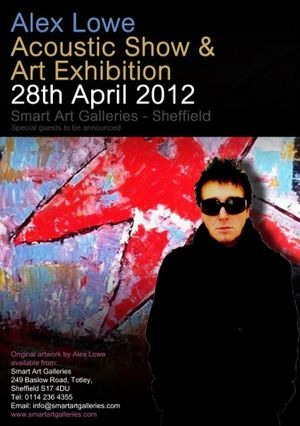 Alex Lowe Acoustic Show And Art Exhibition