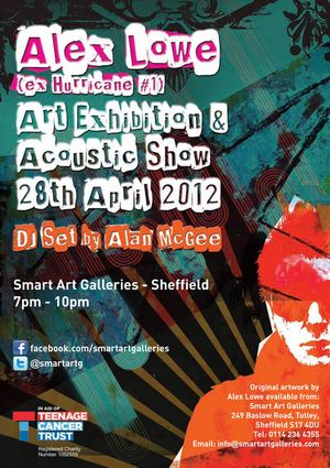 Alex Lowe Art Exhibition & Acoustic Show
