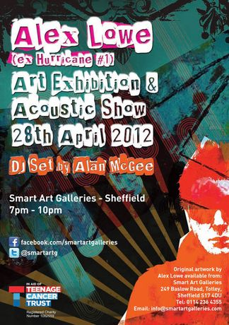 Alex Lowe Art Exhibition & Acoustic Show: Image 0