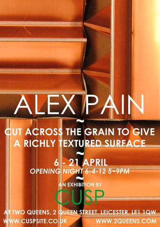 Alex Pain: Cut Across the Grain to Give a Richly Textured Surface: Image 0