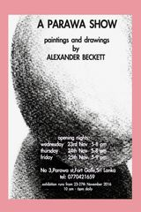 ongoing exhibition for ALEXANDER BECKETT