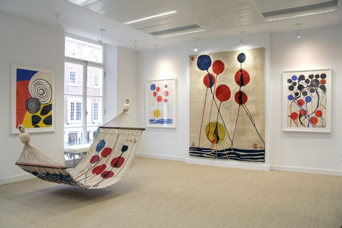 Alexander Calder: Tapestries and their Gouaches: Image 0