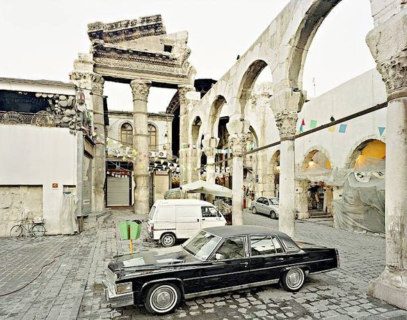 Alfred Seiland | Jupiter's Temple, Damascus, Syria, 2011 | The Albertina, Vienna © Alfred Seiland