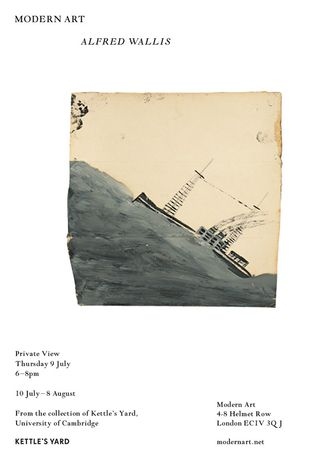 Alfred Wallis, in association with Kettle's Yard: Image 0