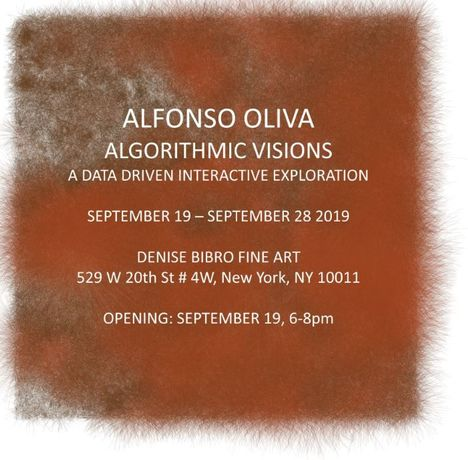 Algorithmic Visions: A Data Driven Interactive Exploration: Image 0