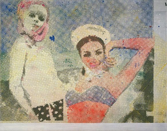 Sigmar Polke (1941 - 2010) Girlfriends (Freundinnen) 1965/66 © 2013 Estate of Sigmar Polke / ARS, New York / VG Bild-Kunst, Bonn