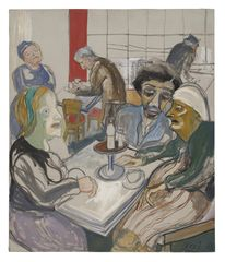 Alice Neel, The Great Society, 1965 © The Estate of Alice Neel