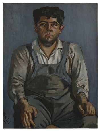 Alice Neel, Grimaldi, 1955 © The Estate of Alice Neel