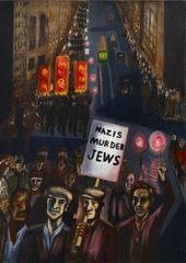 Alice Neel, Nazis Murder Jews, 1936 © The Estate of Alice Neel