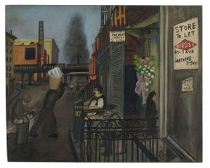 Alice Neel, West 17th Street, 1935 © The Estate of Alice Neel