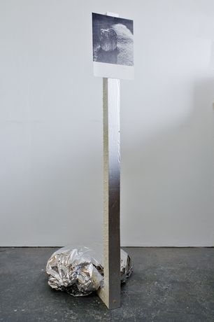 Alice Walton - Untitled, 2016, Mixed media, 118 x 45 x 45 cm