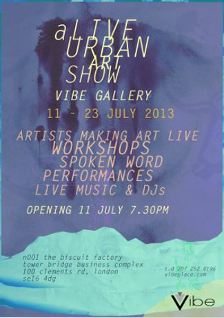 aLIVE Urban Art Show - Creative Writing Workshop: Image 0