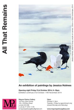 All That Remains and Exhibition by Jessica Holmes: Image 0
