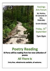 Poetry Reading from a new collection of works by Di Perry