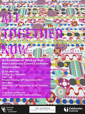 All Together Now: An Exhibition of University Centre School of Art Staff Work