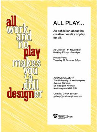 All Work and no Play ...: Image 0