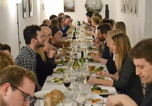 Griffin Gallery | Allotment Project Dinner