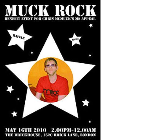 Allstars inc. C.A.Halpin, Gavin Turk, Tim Noble & Sue Webster, Polly Morgan: The Outside World Presents…MUCK ROCK!: Image 0