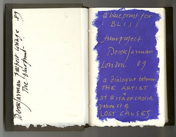 Almost Bliss: Notes on Derek Jarman's Blue: Image 0