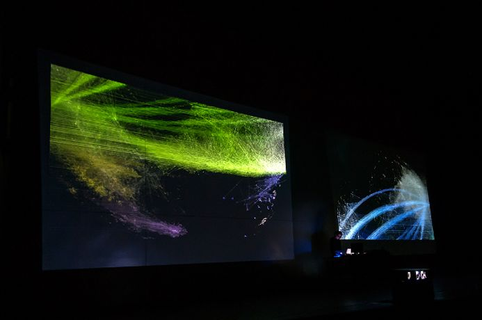 Alpha-ville & BFI Southbank's Sonic Cinema Series present the UK premiere of Ryoichi Kurokawa's new audiovisual concert Syn_: Image 0