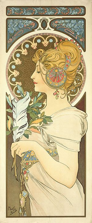 Alphonse Mucha. In Quest of Beauty