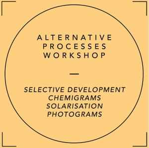 Alternative Photography Workshop