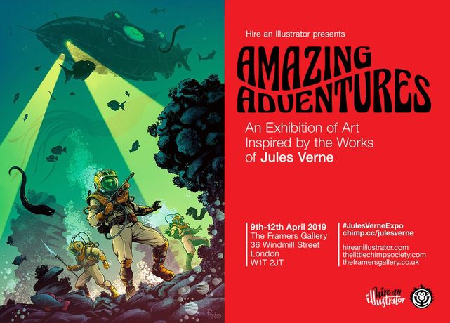 Amazing Adventures: Art Inspired by the Works of Jules Verne: Image 0